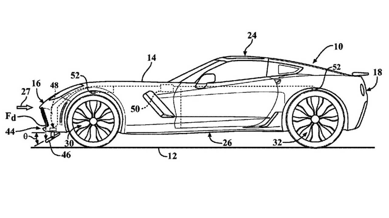 New GM Patent Suggests C8 Corvette Could Get Advanced