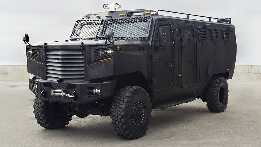 Inkas Superior Is An Angry Apc Built To Survive Anything