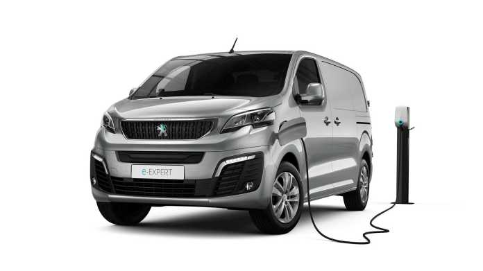 Peugeot Introduces An All Electric Expert