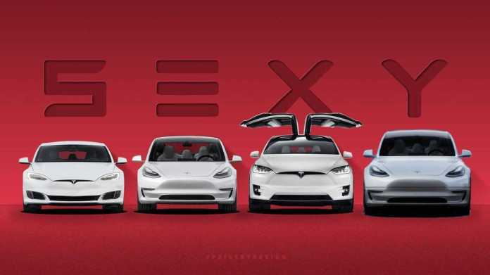 This Is The Sexy Tesla Lineup