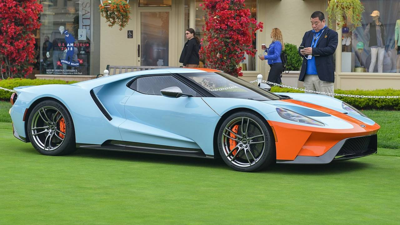 fast from the past ford gt heritage edition gets retro gulf livery