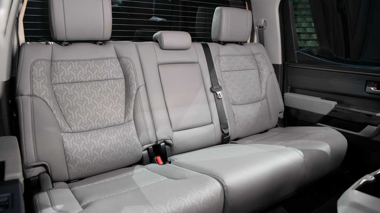 Toyota Tundra Limited TRD 2022 All-Terrain Inner Rear Seat