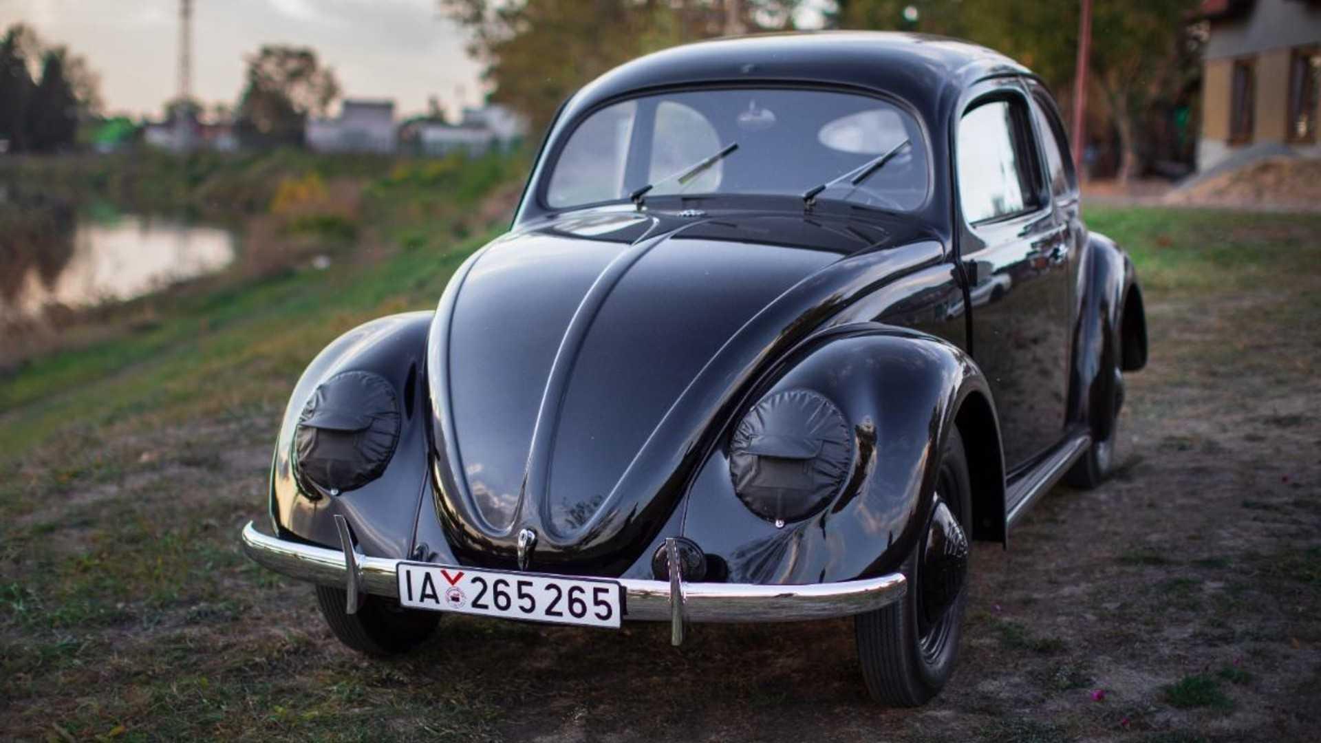 hight resolution of  oldest restored vw beetle
