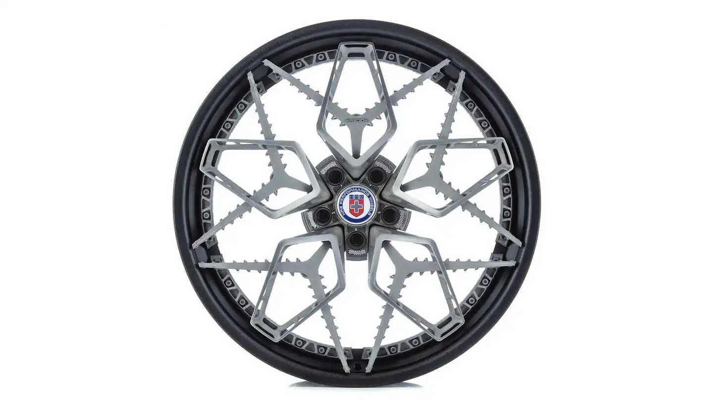 Hre 3d-printed Titanium Wheels