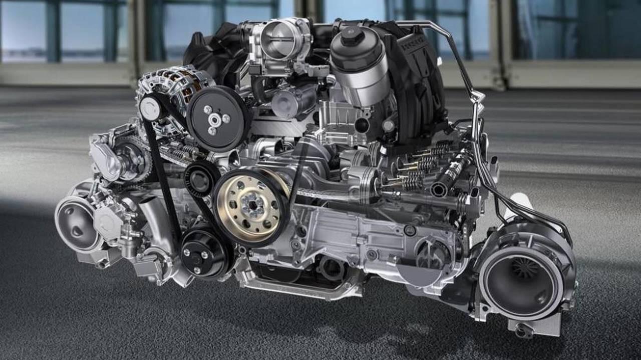 hight resolution of 6 cylinders porsche 3 8 liter boxer
