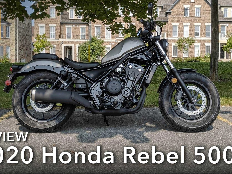 review 2020 honda rebel 500