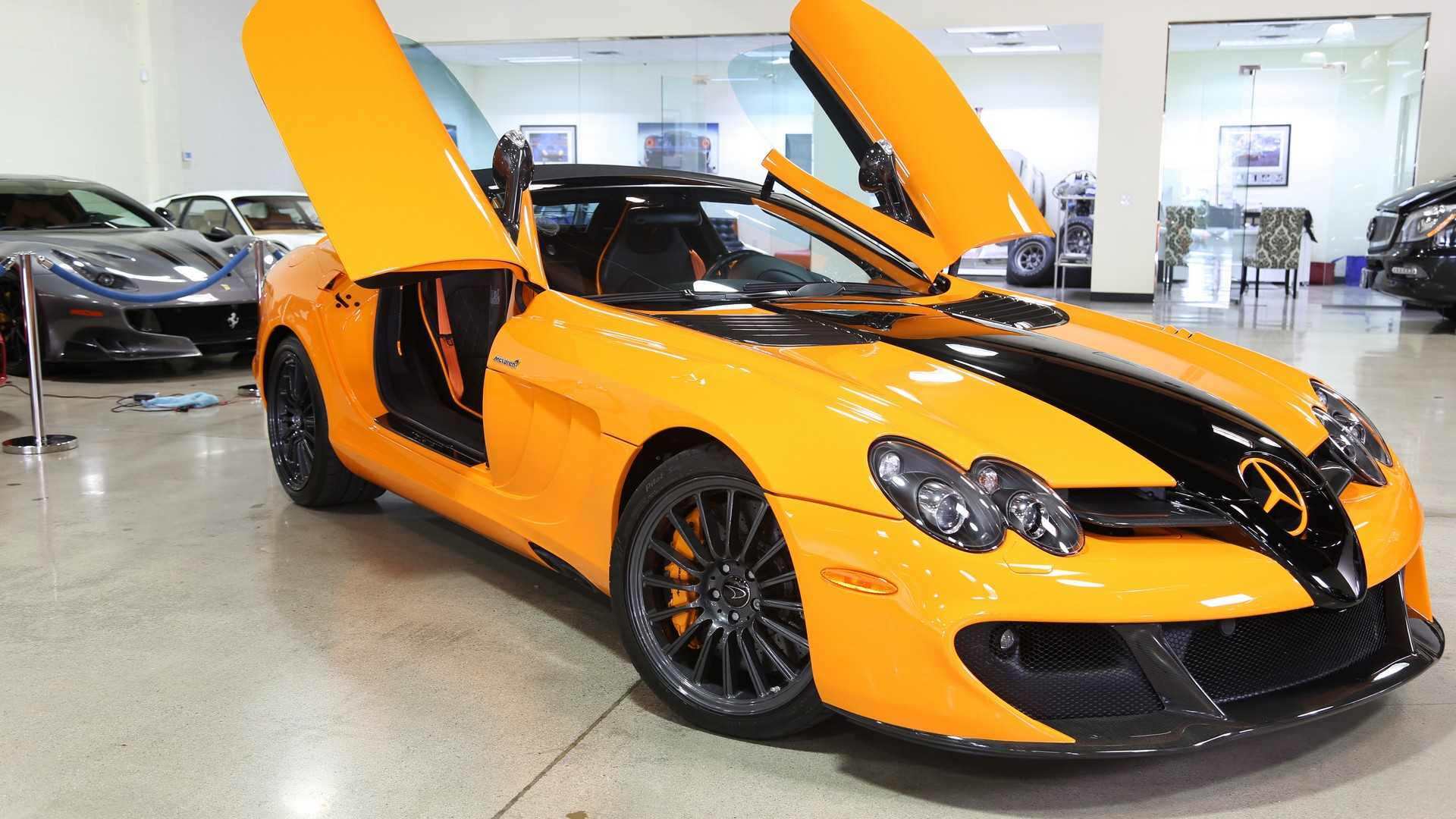 One-Off Mercedes SLR McLaren 722S Can Be Yours For A Cool $1M