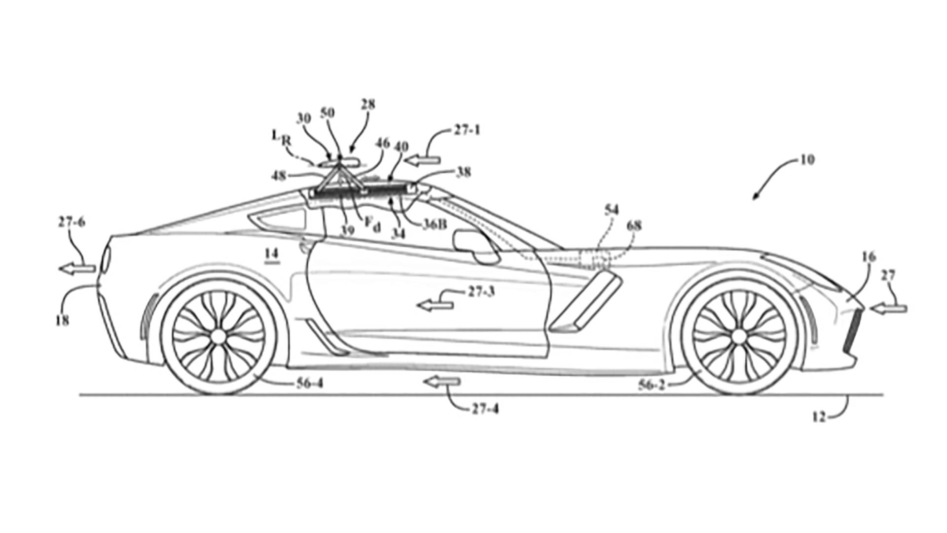 Gm Just Patented A Ton Of Active Aero Tech For The Corvette