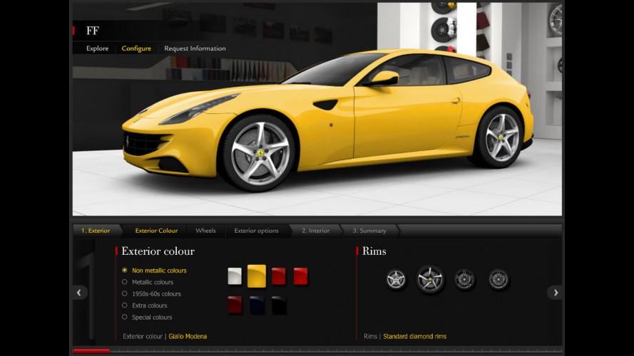 Di che colore comprereste una Ferrari