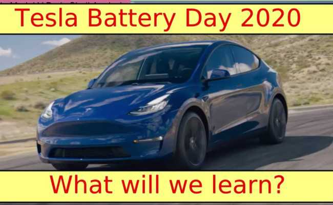 What To Expect From The Tesla Battery Day This Video Tells Us All