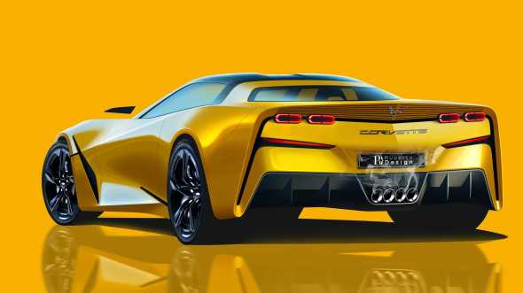 Next-Gen Chevy Corvette C9 Renderings