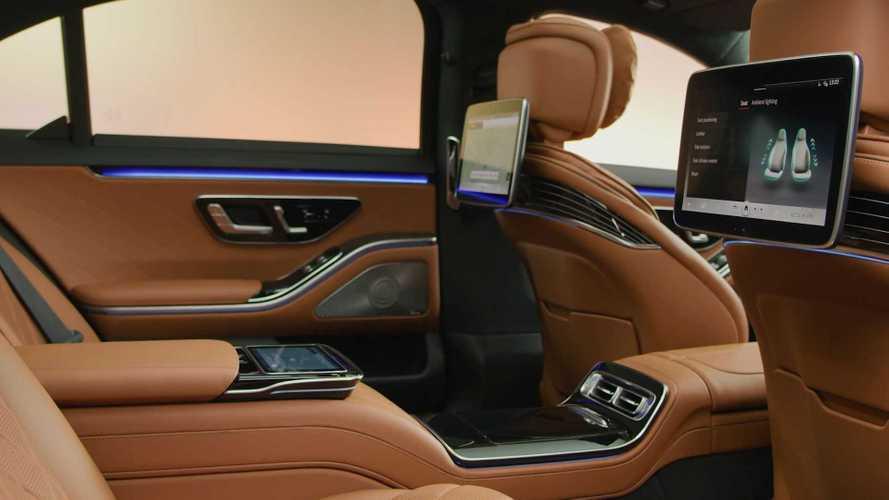 2021 Mercedes S-Class interior - 5130382