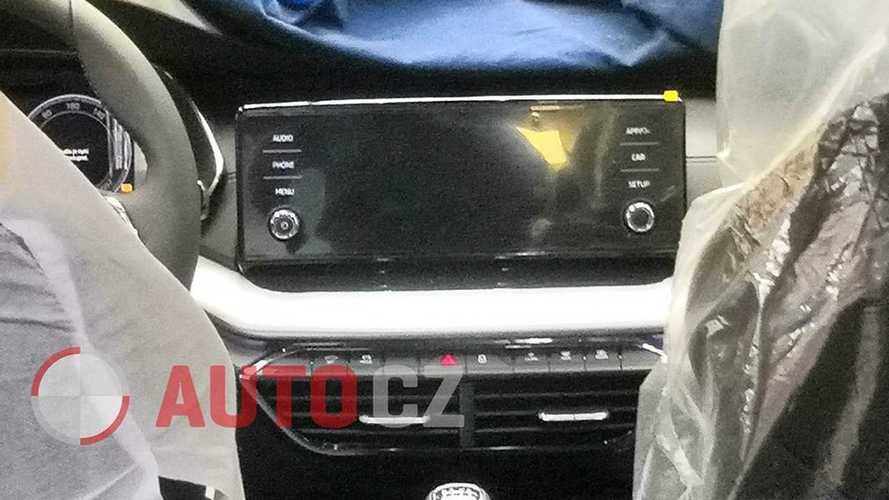 2020 Skoda Octavia Interior Spy Photo 2 Of 2 Motor1 Com