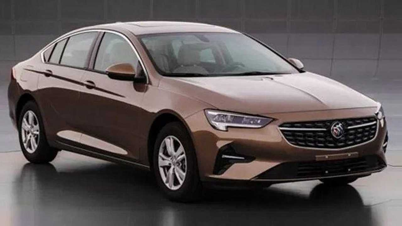 2020 Buick Regal Surfaces In China With Minor Facelift