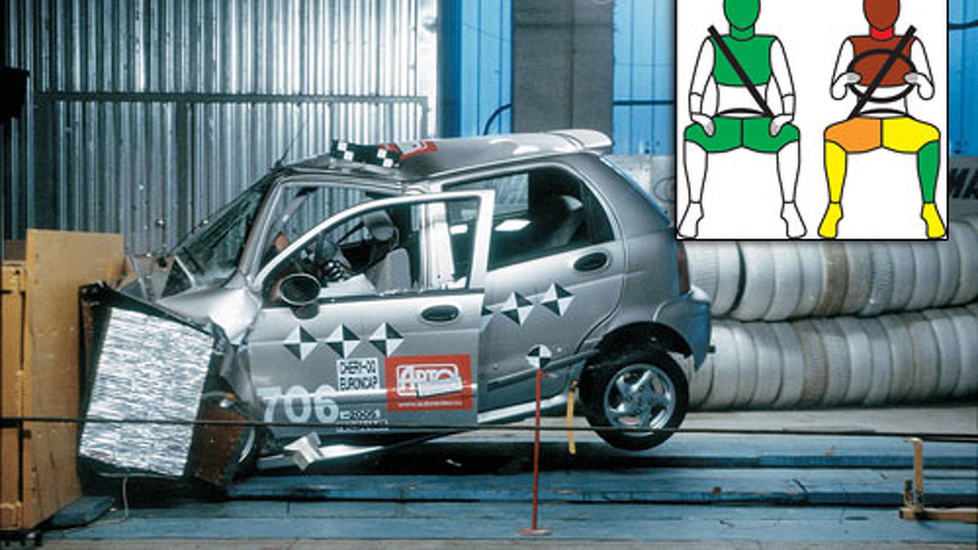 hight resolution of chery qq euro ncap crash test