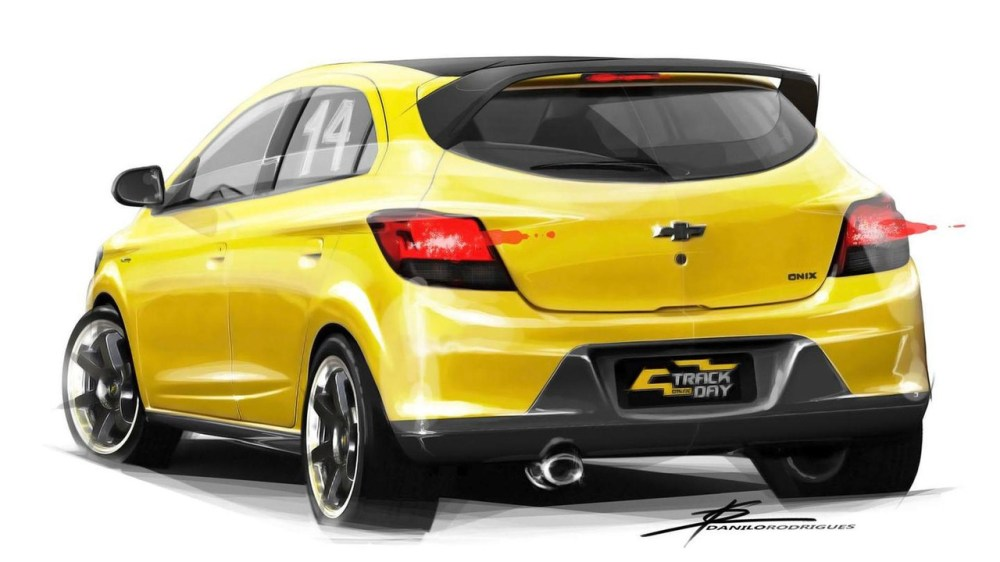 medium resolution of chevrolet onix track day concept