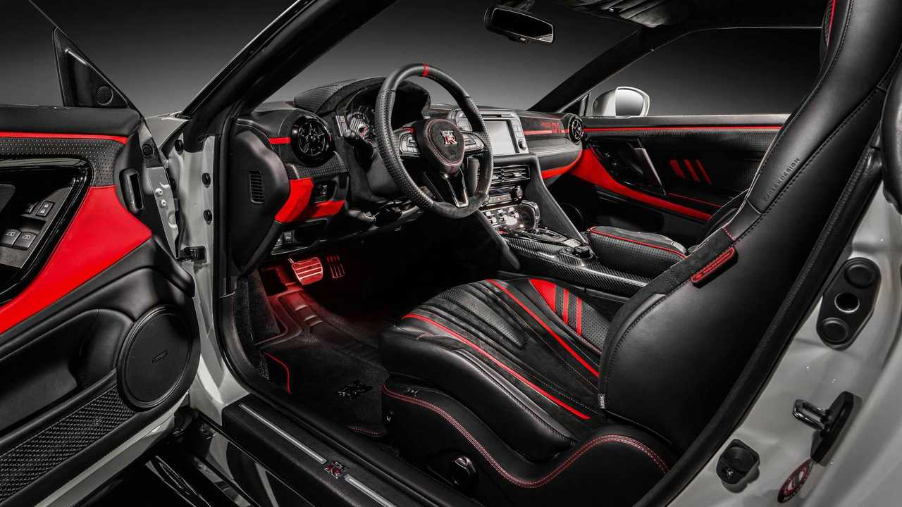 Project Cars Wallpaper Red Nissan Gt R Gets Vibrant Custom Interior From Carlex Design