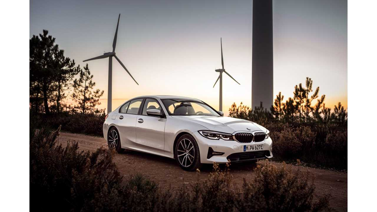 hight resolution of bmw reveals battery capacity range details on new 330e phev