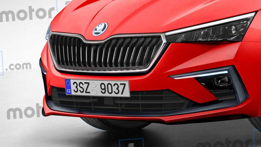 2019 Skoda Scala Render | Motor1.com Photos