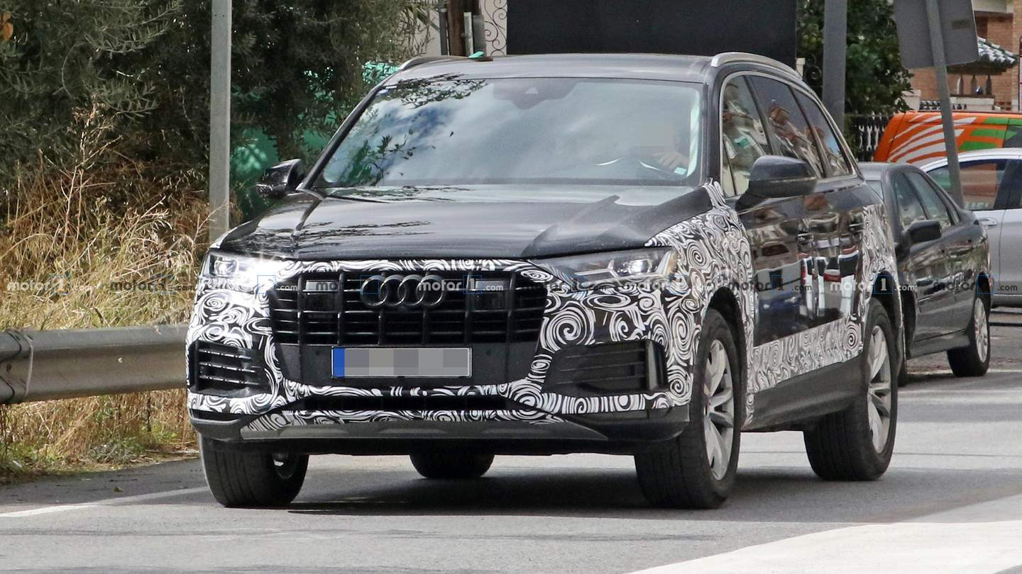 Audi Q7 And Sq7 Refresh Spy Shots
