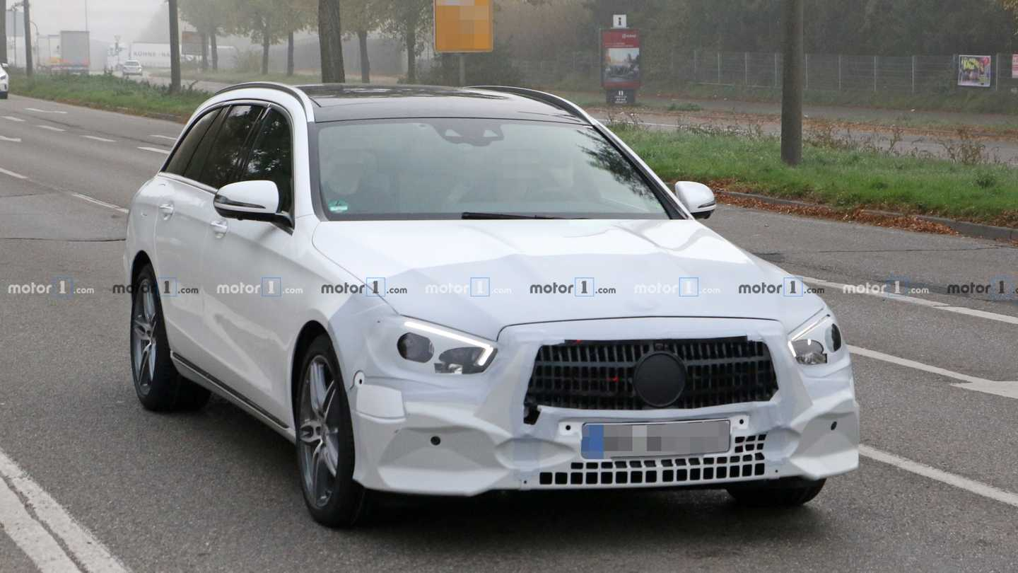 2020 Mercedes-benz E-class Wagon Spy Photos