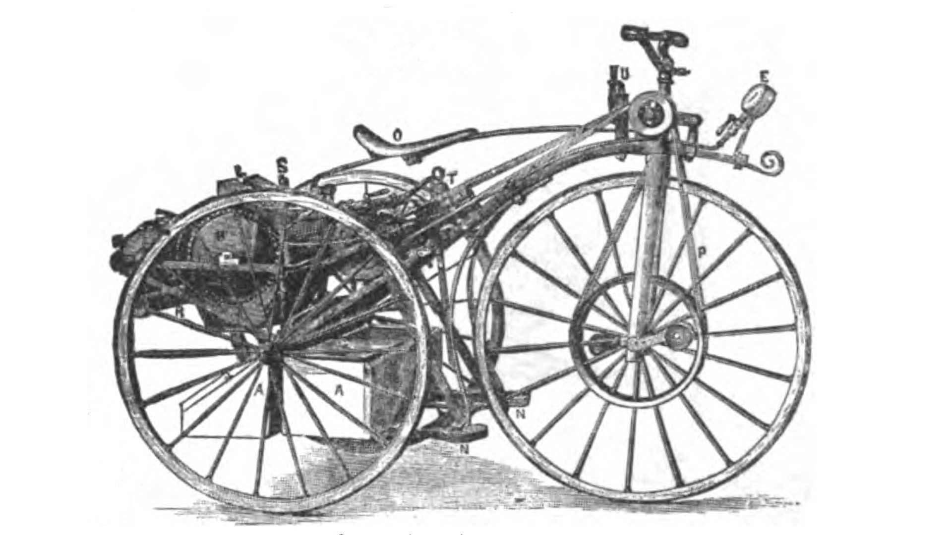 Ask RideApart: What Was the First Motorcycle Ever Built