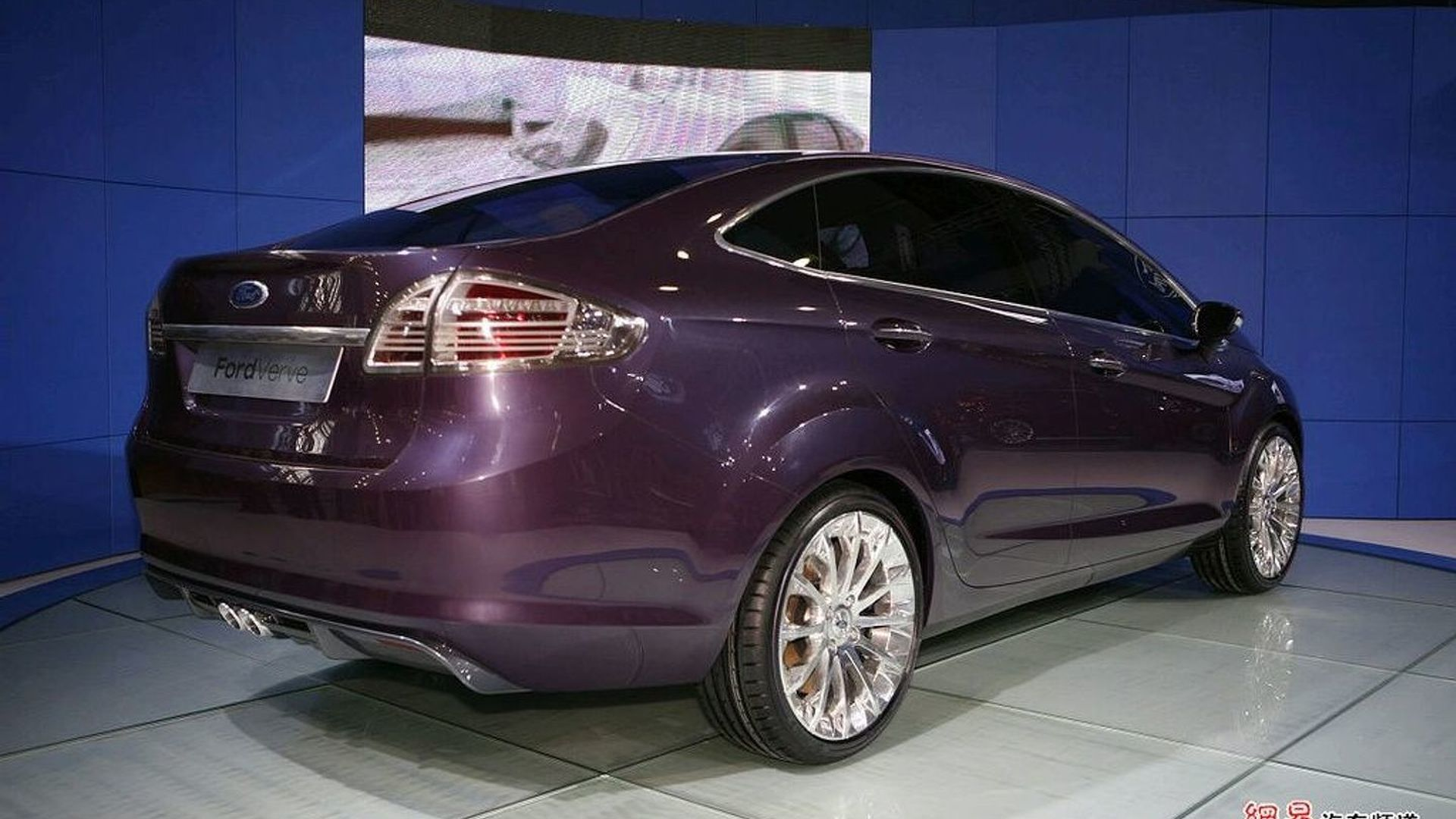 Ford Verve 4 Door Concept Debut In Guangzhou