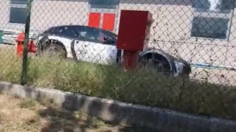 Ferrari Purosangue Test Mule Spied