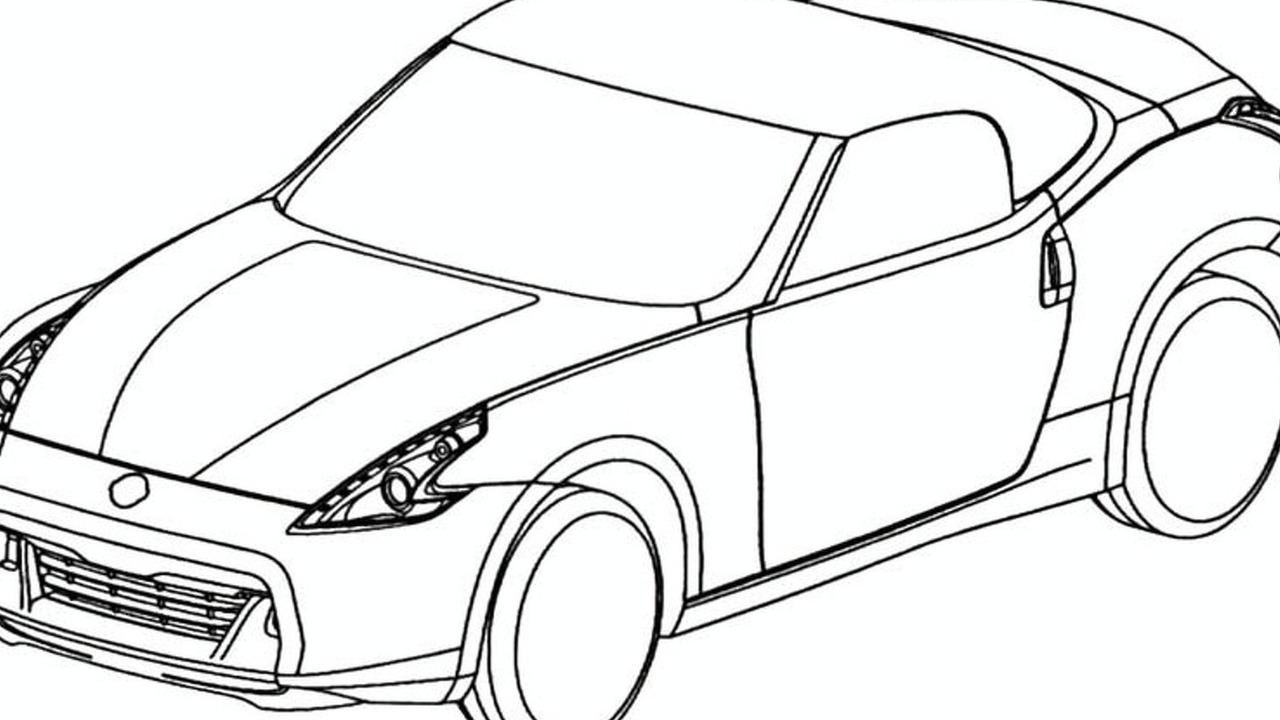 Nissan 370Z Roadster Design Sketches Leaked Via European