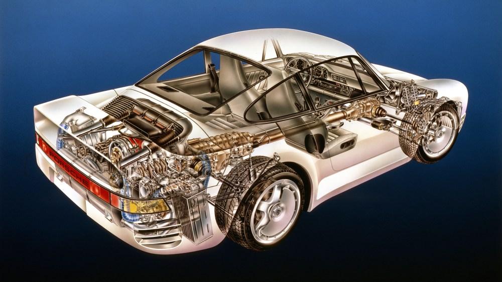 medium resolution of porsche 930 engine diagram