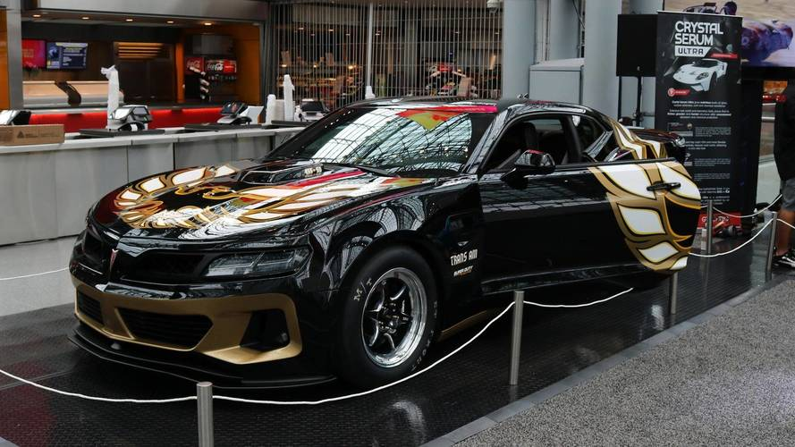 Trans Am Super Duty Converted For Drag Racing Duty With
