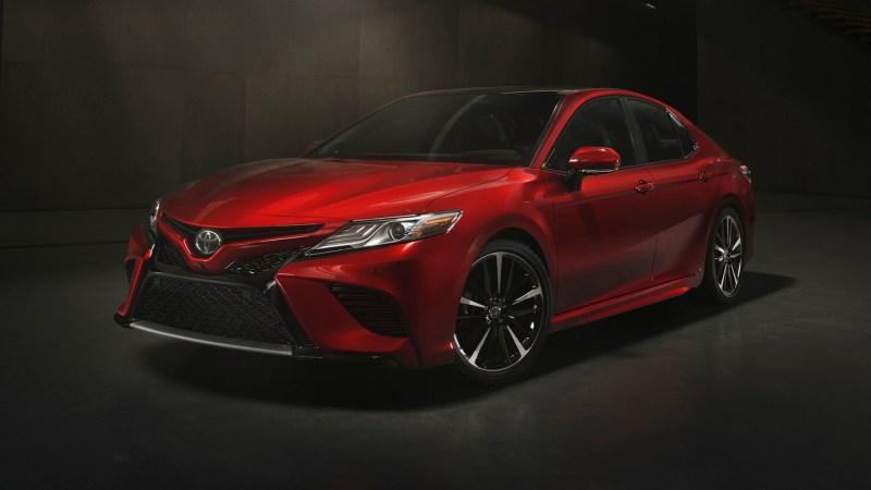 7. Toyota Camry: 343,439 units