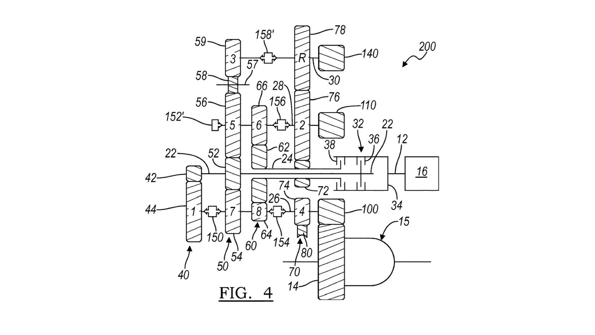 Gm Patent Details 8 Speed Dct Likely For Mid Engined Corvette