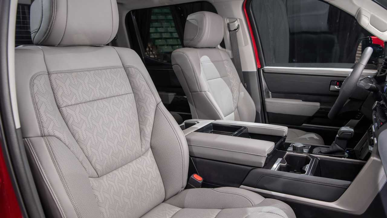 Toyota Tundra Limited TRD 2022 all-terrain indoor front seat