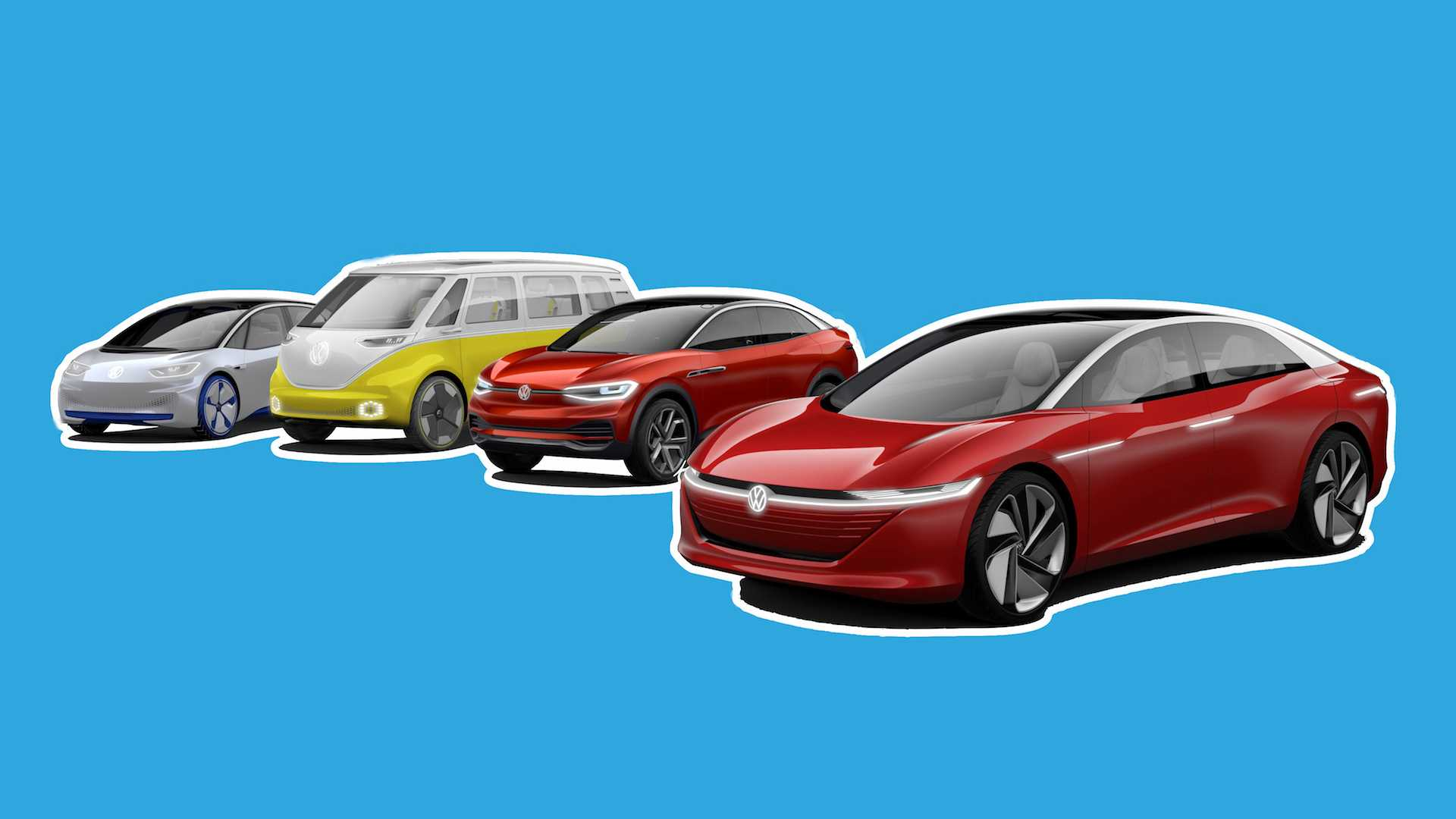 Volkswagens 8 Upcoming Evs And When You Can Buy Them