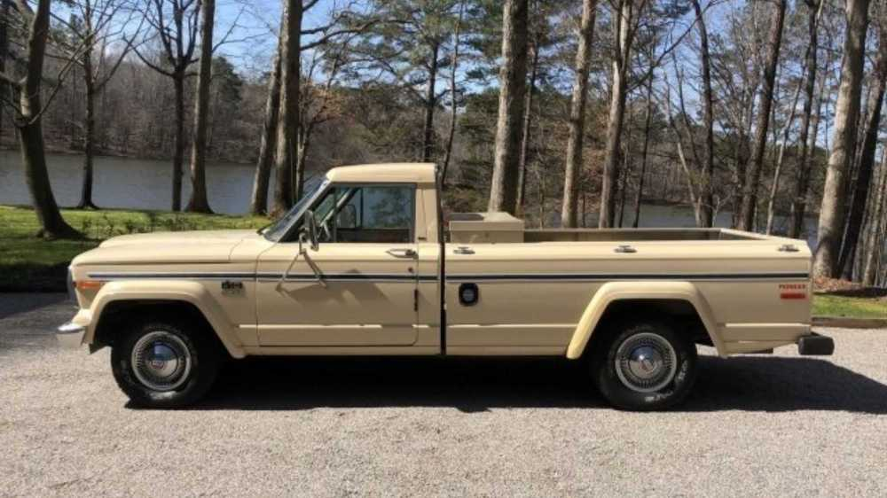 medium resolution of  save this rugged and rare 1985 jeep j10 pioneer