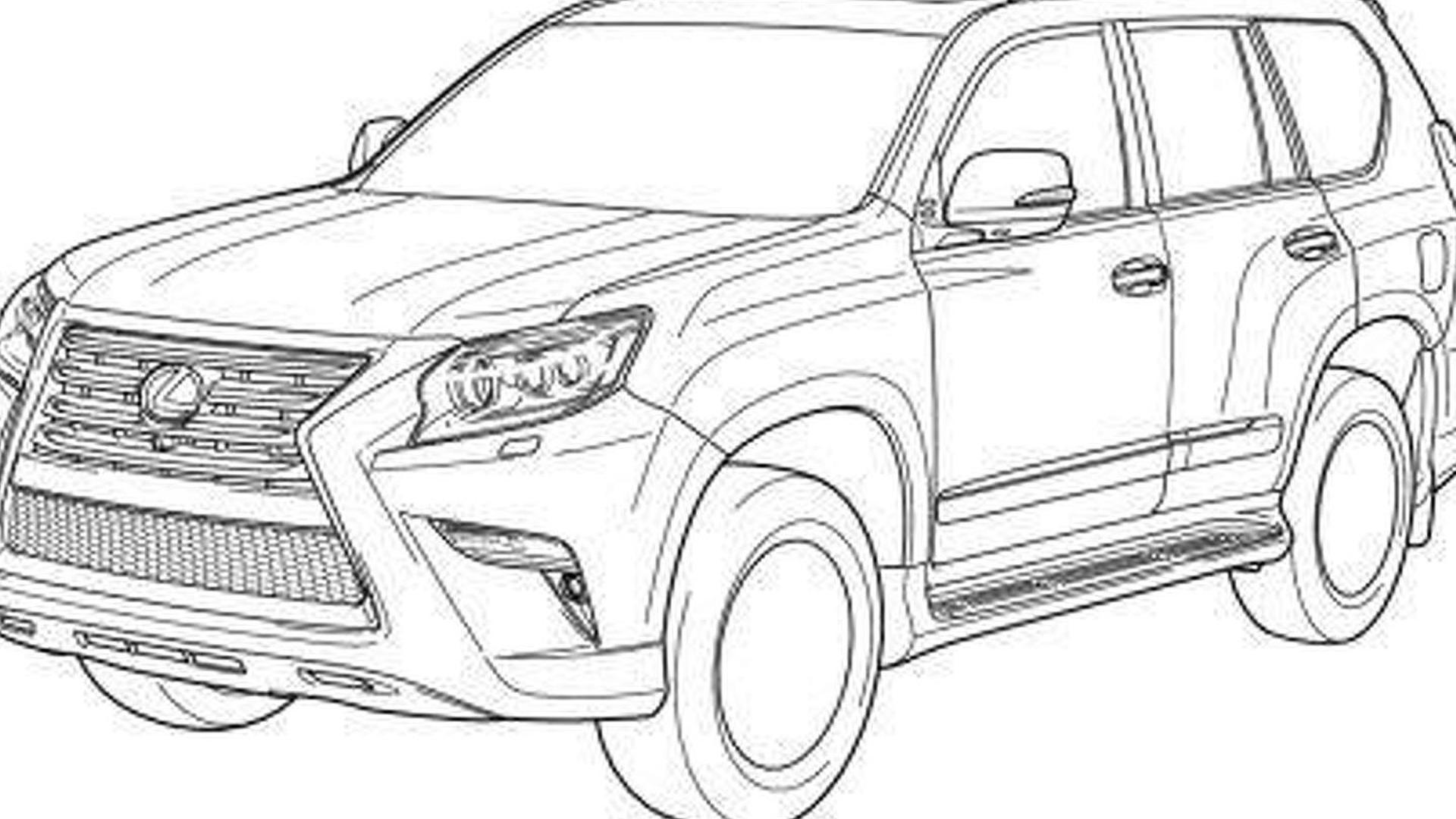 2014 Lexus GX & Toyota Land Cruiser Prado leaked
