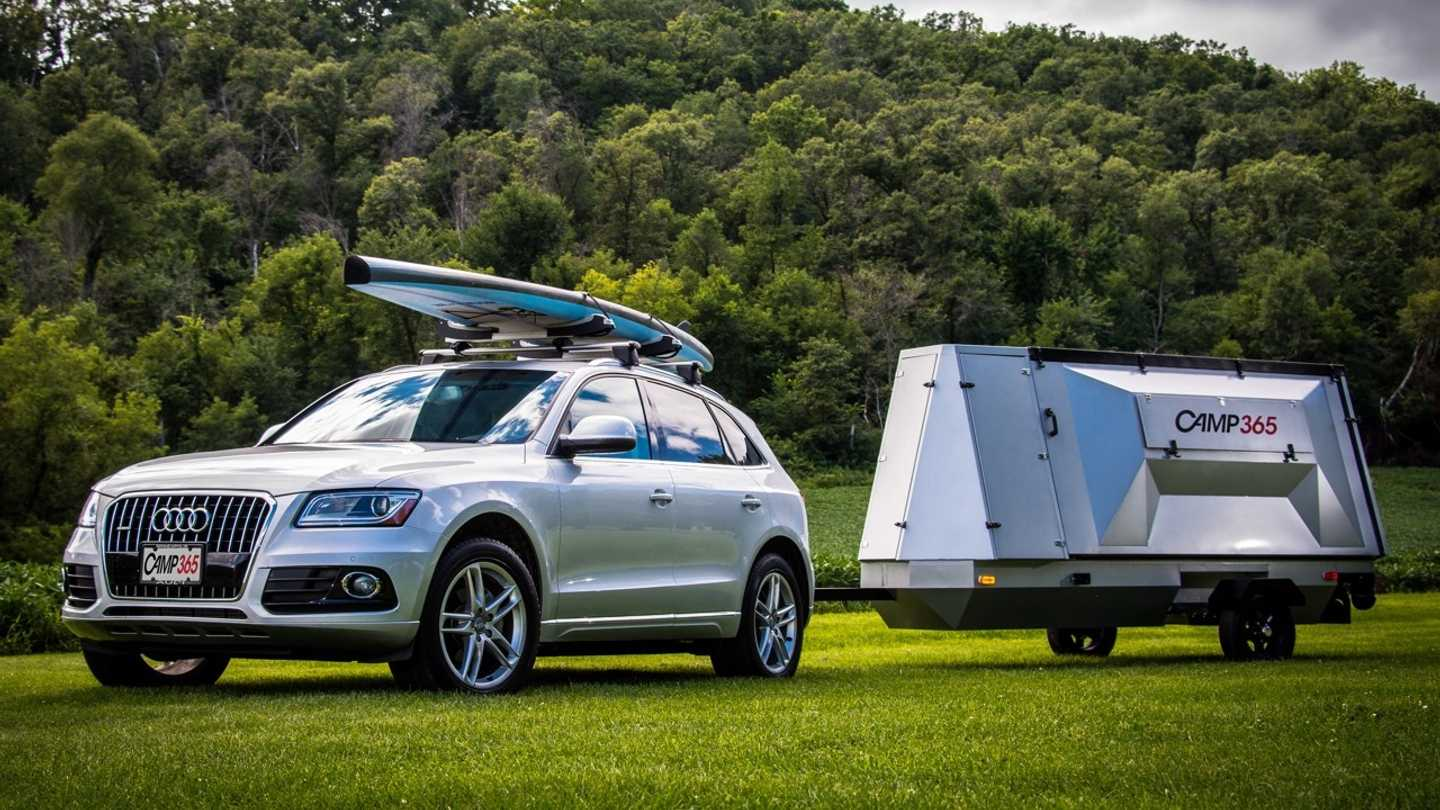 Camp365 Pop-Up Camping Trailer