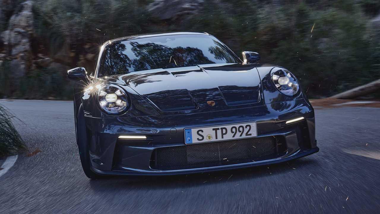 2022 Porsche 911 GT3 Touring exterior
