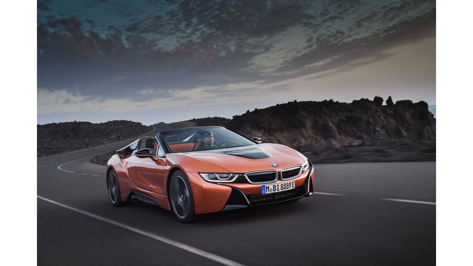 Bmw I8 Roadster First Drive Review Top Down Electric Motoring
