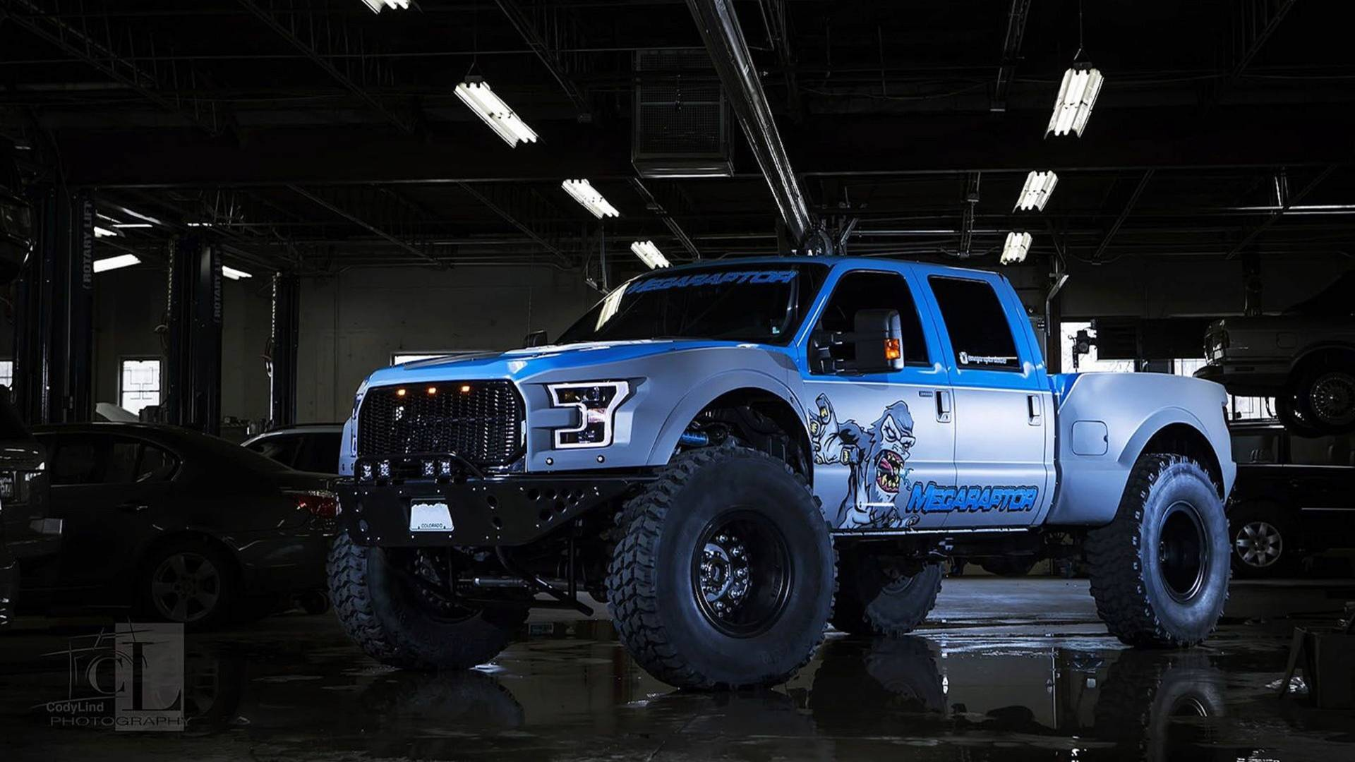 hight resolution of ford f 350 mega raptor by defco trucks