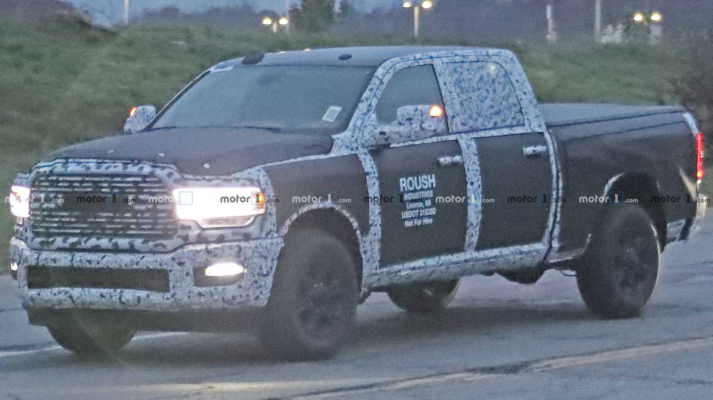 Ram 2500 Laramie Crew Cab Spy Shots