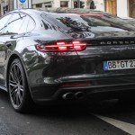 Ao Vivo Porsche Panamera 2017 Ja Passeia Limpinho Pelas Ruas De Berlim