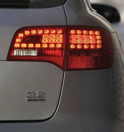 audi a6 avant rear light with led  [ 1920 x 1080 Pixel ]
