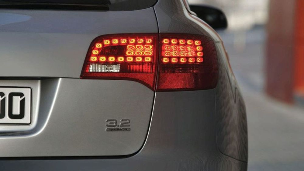 medium resolution of  audi a6 avant rear light with led