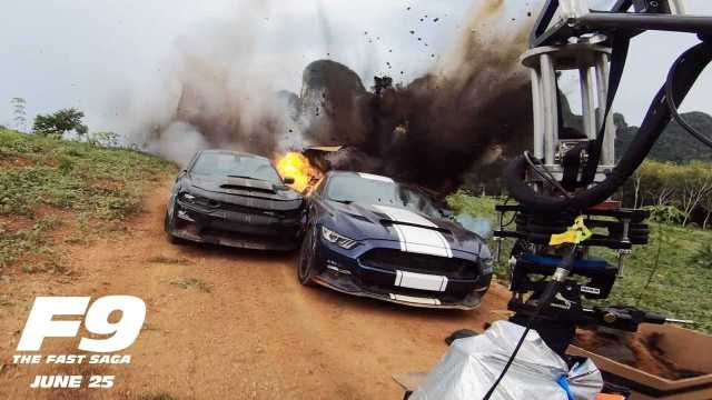 Fast And Furious 9 Goes Behind The Scenes To Show Vehicular Carnage