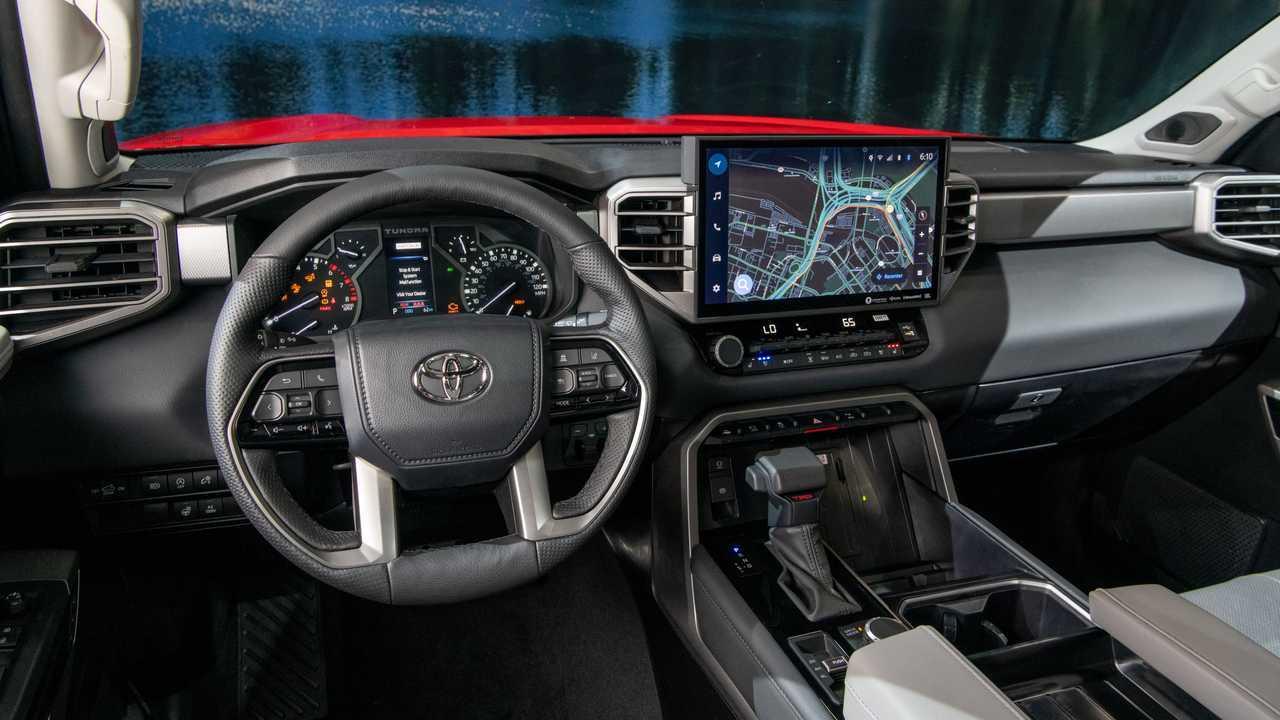 Toyota Tundra Limited TRD 2022 all-terrain interior dashboard