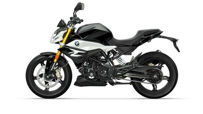 The new BMW G 310 R, basic color Cosmic Black