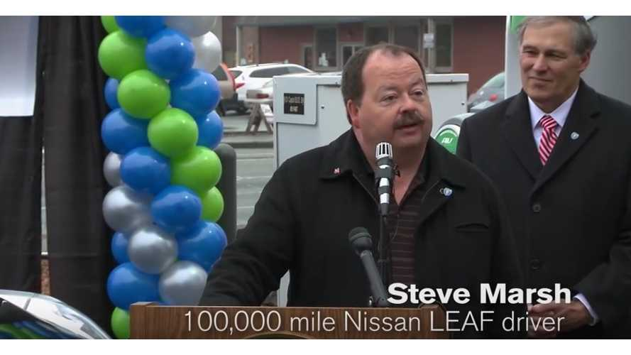 exclusive interview with steve marsh as his nissan leaf hits 150 000 miles original battery