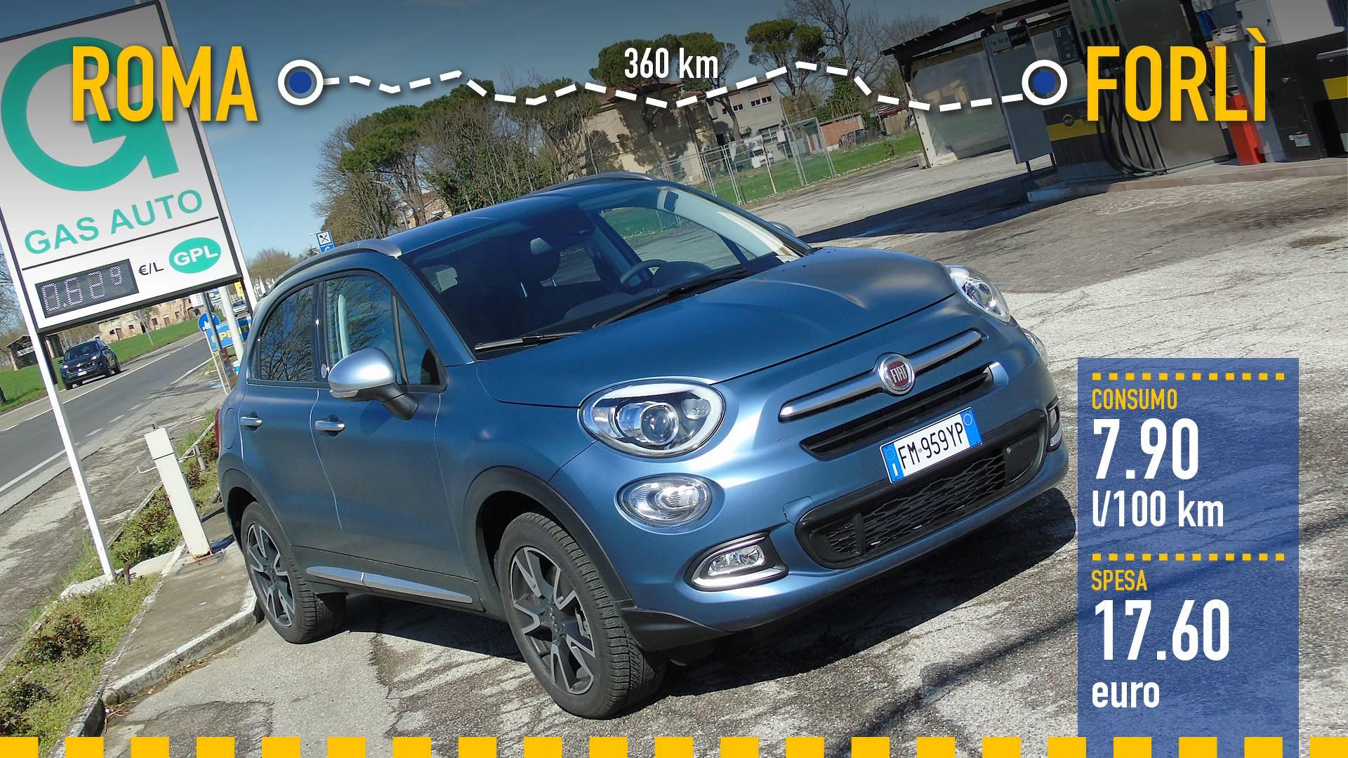 Fiat 500x Gpl La Prova Dei Consumi Reali